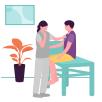 訪問看護ステーションと連携した医療体制